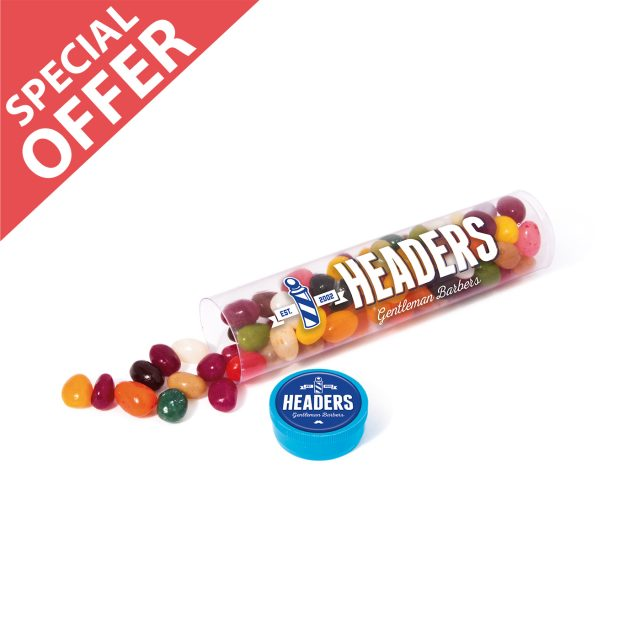 Special Offer – Clear Tube Maxi – Jelly Bean Factory®