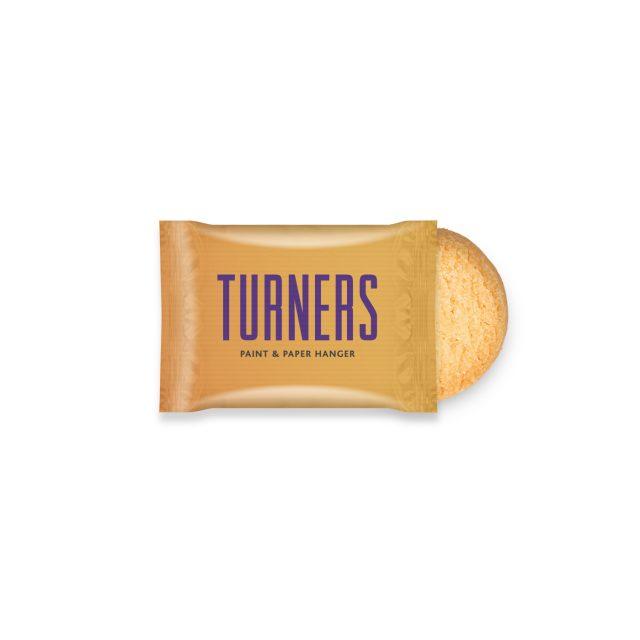 Paper Flow Bag – Mini Shortbread Biscuits – x1