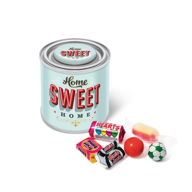 Small Paint Tin – Retro Sweets
