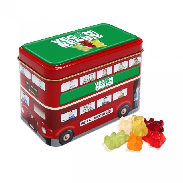 Bus Tin – Kalfany Vegan Bears