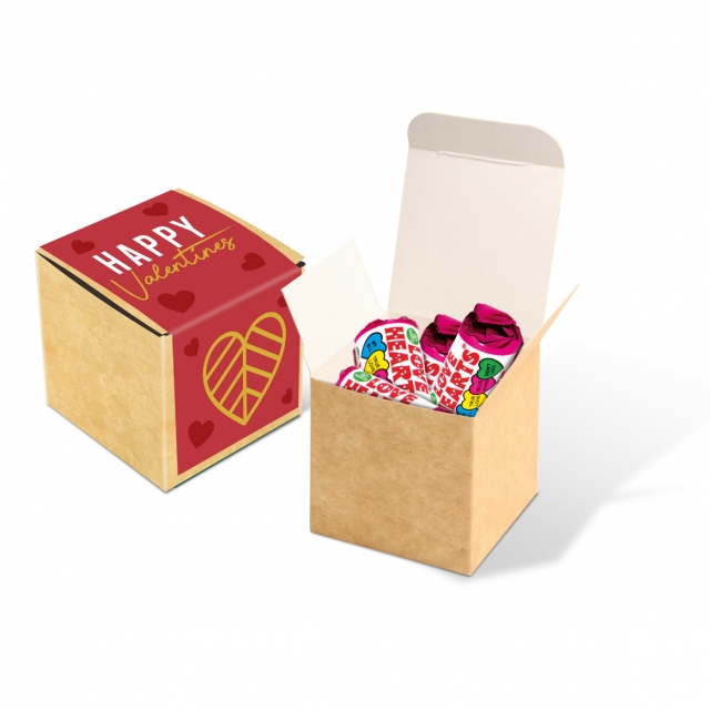 Valentines – Eco Kraft Cube – Love Hearts®