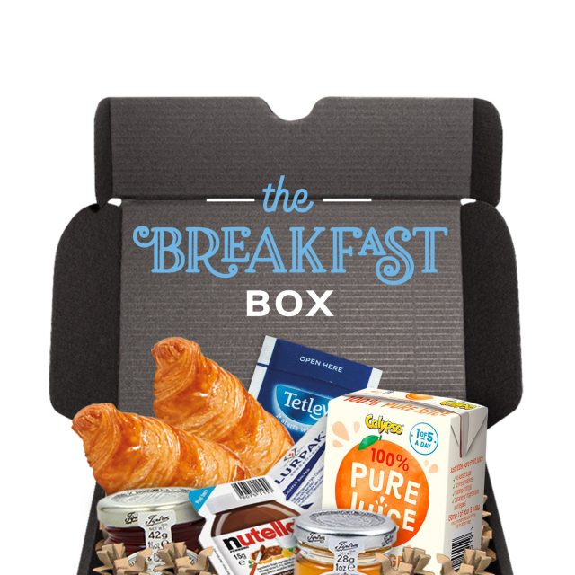 Gift Boxes – Midi Black Gift Box – Breakfast Editon