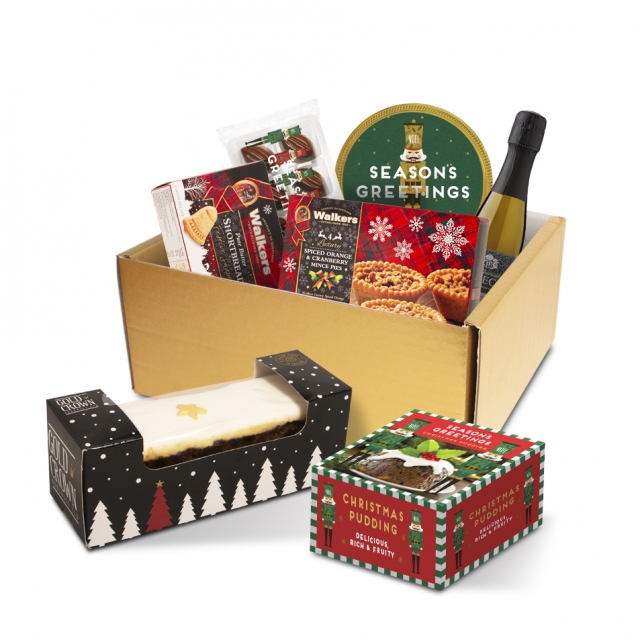 Winter Collection – Luxury Selection Gift Box – With Prosecco